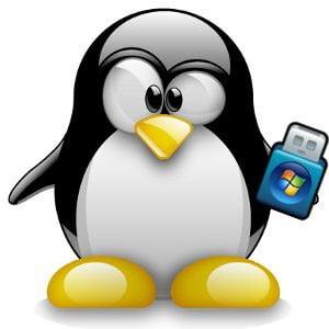 Linux windows usb iso yazdırma